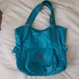 Billabong teal tote bag